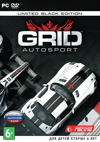 GRID Autosport (DVD box)