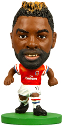 Фигурка футболиста Soccerstarz - Arsenal Alex Song - Home Kit (Series 1) (73311)