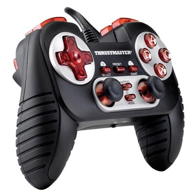 PS 3 Джойстик проводной THRUSTMASTER Dual Trigger 3-1 Gamepad (PS3, PS2, PC) (2960701/4160531)