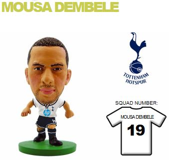 Фигурка футболиста Soccerstarz — Spurs Moussa Dembele — Home Kit (76985)