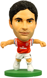 Фигурка футболиста Soccerstarz - Arsenal Mikel Arteta - Home Kit (Series 1) (73310)