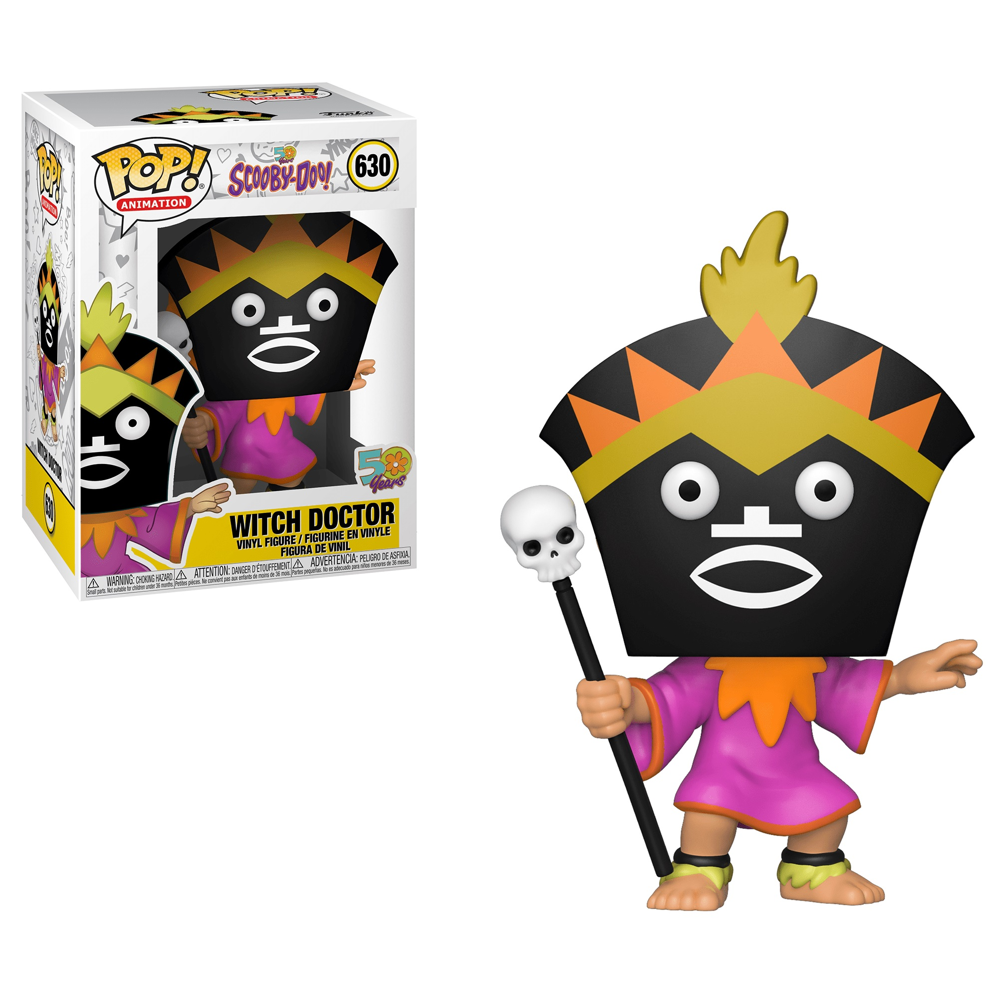 Фигурка Funko POP! Vinyl: Scooby Doo 50th Anniversary: Witch Doctor 39948