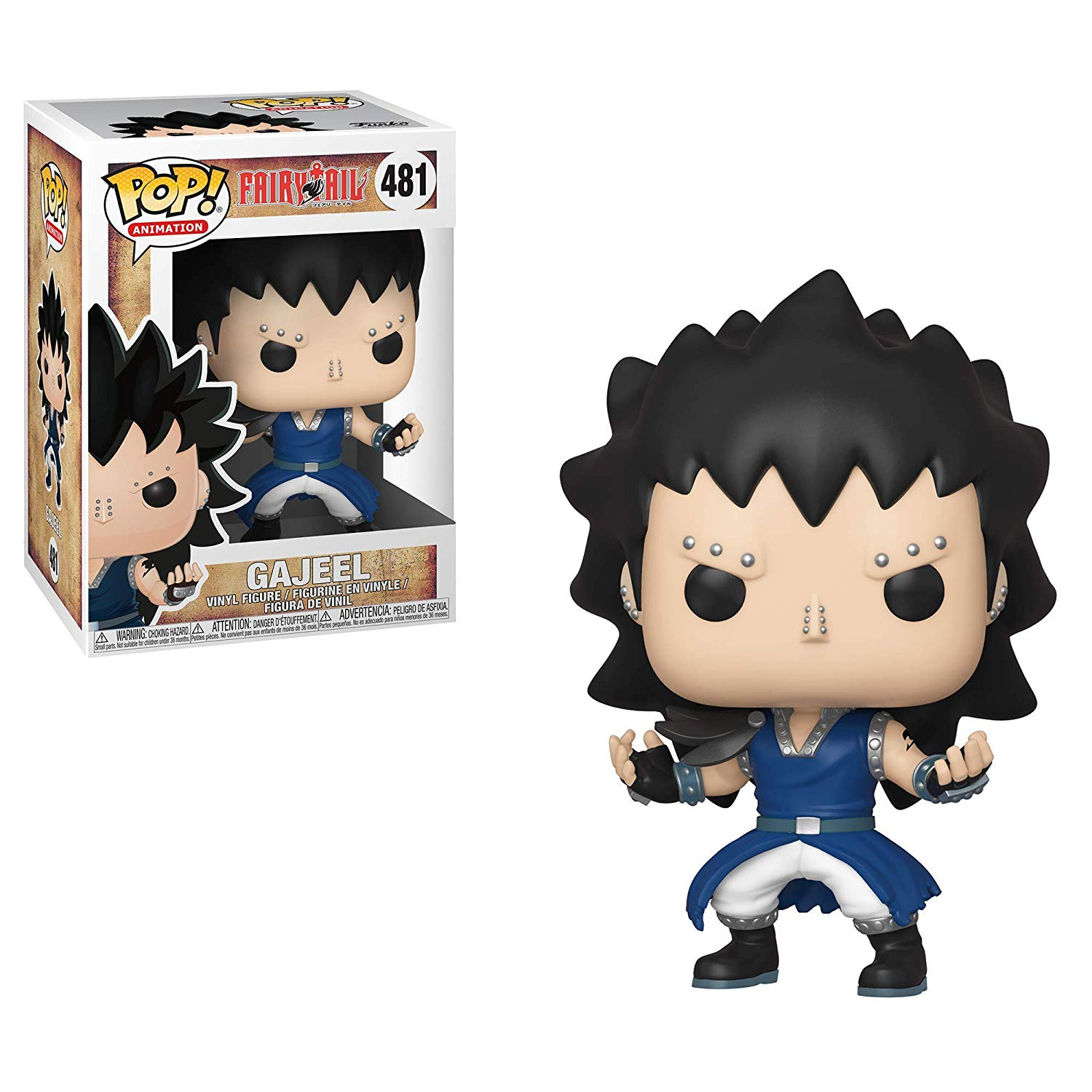 Фигурка Funko POP! Vinyl: Fairy Tail S3: Gajeel 30604