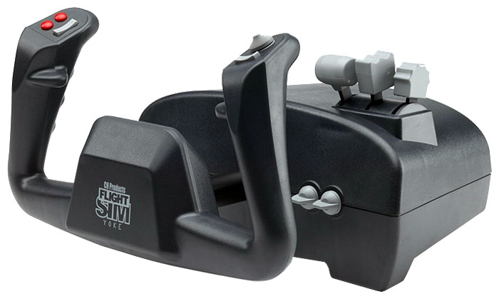 PC Джойстик CH Flight Sim Yoke (P/N 200-615)