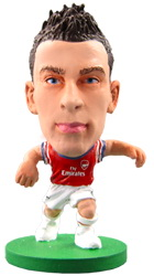 Фигурка футболиста Soccerstarz - Arsenal Laurent Koscielny - Home Kit (73317)