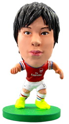 Фигурка футболиста Soccerstarz - Arsenal Ryo Miyaichi - Home Kit (73470)