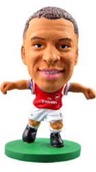 Фигурка футболиста Soccerstarz - Arsenal Alex Oxlade-Chamberlain - Home Kit (73316)