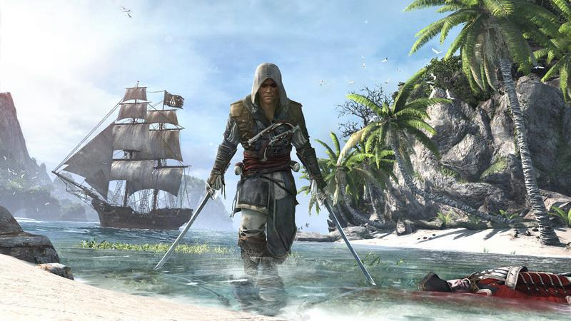Assassin's Creed IV Black Flag Skull Edition (русская версия)