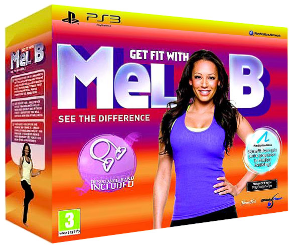 Get Fit With Mel B  (только для PS Move)