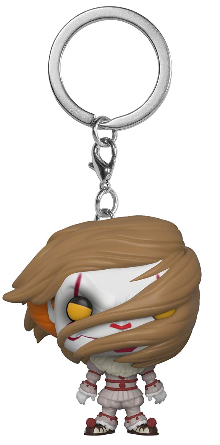 Брелок Funko Pocket POP! Keychain: IT S2: Pennywise (w/ Wig) 31810-PDQ