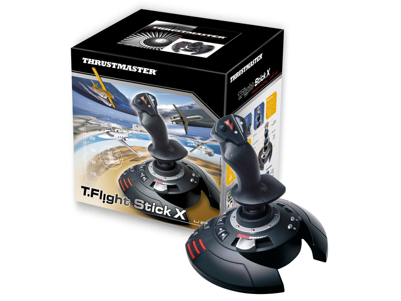 PS 3 Джойстик Thrustmaster T Flight Stick X PS3/PC (2960694)