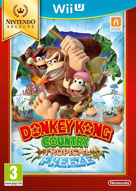 Nintendo Selects Donkey Kong Country: Tropical Freeze (Английская версия)