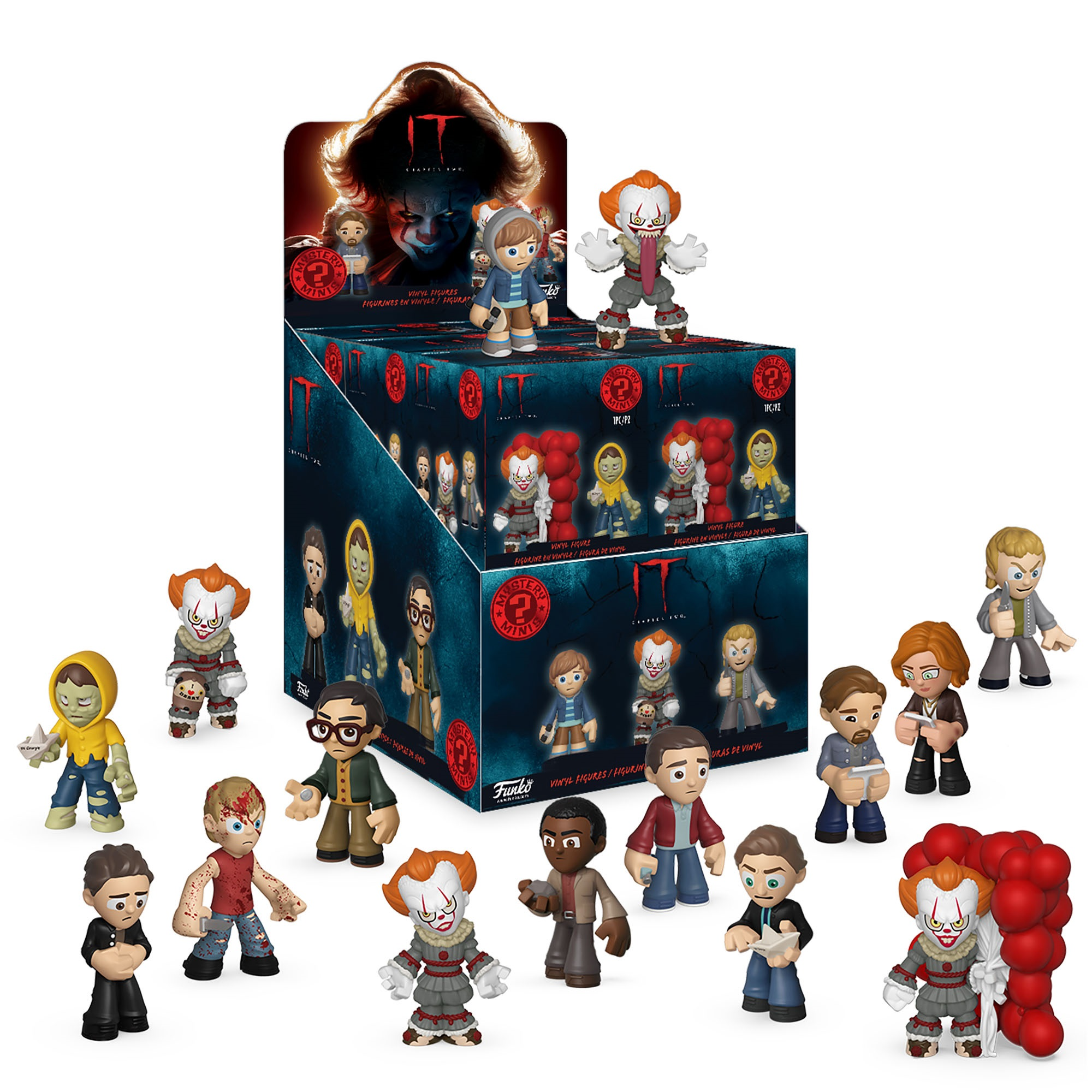 Фигурка Funko Mystery Minis: IT Chapter 2: 12PC PDQ 40642