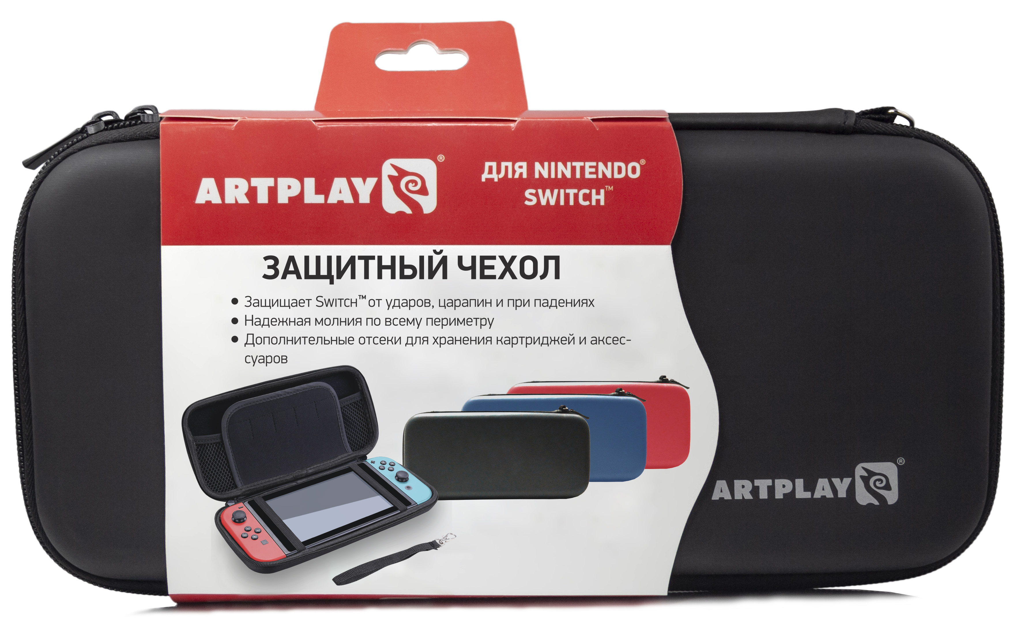 Чехол Artplays для Nintendo Switch черный