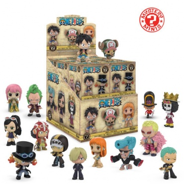 Фигурка Funko Mystery Minis:: One Piece: 12PC PDQ  30608
