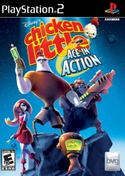 PS2  Chicken Little Ace in Action