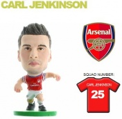 Фигурка футболиста Soccerstarz - Arsenal Carl Jenkinson - Home Kit (400001)