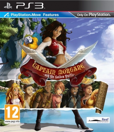 Captain Morgane and the Golden Turtle (с поддержкой PS Move)