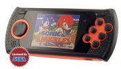 "SEGA Genesis Gopher Wireless LCD 2.8"", ИК-порт + 370 игр + SD карта (оранжевый)"