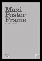 Рамка Pyramid: Maxi Poster Frame - Black Wrapped MDF (61x91.5cm) FRAME4W