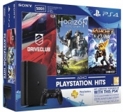 PlayStation 4 500 Gb Slim (CUH-2108A) +HRZ+DC+R&C+PSN 3мес