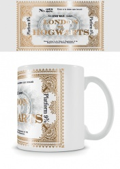 Кружка Pyramid: Harry Potter (Hogwarts Express Ticket) Foil Mugs FMG24969