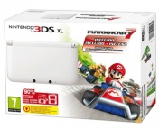 "Nintendo 3DS XL HW White + игра ""Mario Kart 7"""