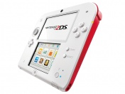 Nintendo 2DS White & Red (NIC-2202436)