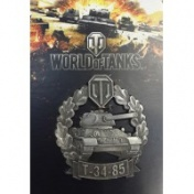 "World of Tanks Магнит ""Танк Т-34-85"""