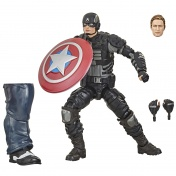 Фигурка Marvel GamerVerse Avengers Captain America Stealth 15см E7347