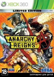 Anarchy Reigns. Limited Edition (русская документация)