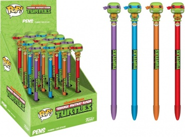 Ручка Funko POP! Pen Toppers: TMNT: Assorted 16pc PDQ (1шт.) 11158