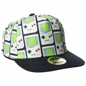 Бейсболка Difuzed: Nintendo: Gameboy Snapback With Allover Print SB081204NTN