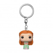Брелок Funko Pocket POP! Keychain: Harry Potter: Ginny (Yule) 42258-PDQ