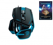 "PC Мышь Mad Catz R.A.T.TE Gaming Mouse - Matt Black + бонусный код ""Path of EXILE"""