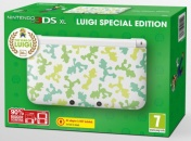 Nintendo 3DS XL HW White (NIC-2202732) Luigi Edition