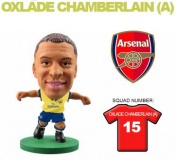 Фигурка футболиста Soccerstarz - Arsenal Alex Oxlade-Chamberlain - Away Kit (77041)