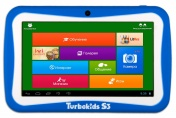 "Планшетный компьютер TurboKids S3 7""TFT 1024Х600,1.0GHz,8Gb,Wi-Fi,Android 4.2 (синий)"