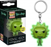 Брелок Funko Pocket POP! Keychain: Rick & Morty: Toxic Rick GITD (Exc) 32044-PDQ