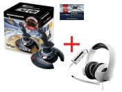 Набор Thrustmaster: Джойст T-Flight Stick X, PS3/PC,Warthunder pack+Игр гарY300CPX Gaming HeadsetPS4