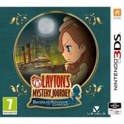 Layton Mystery Journey: Katrielle and the Millionaires' Conspiracy (Английская версия)