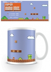 Кружка Pyramid: Nintendo: Super Mario (Retro Title) Coffee Mugs MG24484