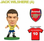 Фигурка футболиста Soccerstarz - Arsenal Jack Wilshere - Away Kit (202501)