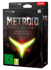 Metroid: Samus Returns Legacy Edition (Английская версия)