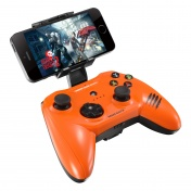 PC Геймпад Mad Catz C.T.R.L.i Mobile Gamepad - Gloss Orange для iPhone и iPad (MCB312630A10/04/1)