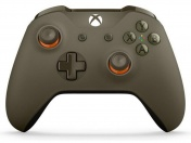 XboxOne Геймпад беспроводной NEW 3.5mm XboxOne Wireless Gamepad (WL3-00036) зелено-оранж+Bluetooth