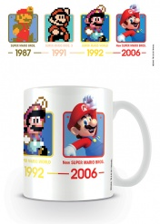 Кружка Pyramid: Nintendo: Super Mario (Dates) Coffee Mugs MG24640