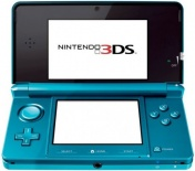 Nintendo 3DS Aqua Blue (аквамарин)