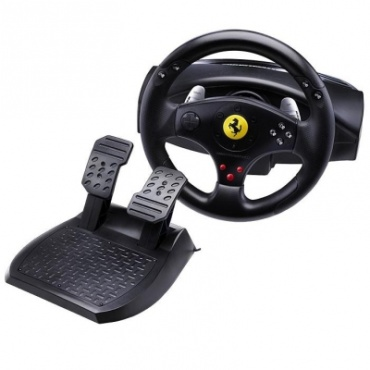 PS 3 Руль Thrustmaster Ferrari GT Experience Racing Wheel  PS3 без вибрации/PS2/PC (2960697)