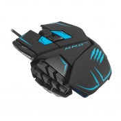 PC Мышь Mad Catz M.M.O.TE Gaming Mouse - Matt Black проводная лазерная (MCB437140002/04/1)